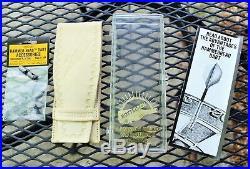 1980s Tony Payne signed Bottlesen 25g Hammer Head Dart set complete with case Rare