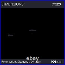20 Gram Peter Wright Red Dragon Wc Diamond Fusion Se 90% Tungsten Steel Tip