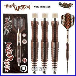 22 Gram Shot Tribal Weapon 2 90% Tungsten Steel Tip Darts. Center Weighted