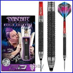 22g Snakebite Darts Set Peter Wright Melbourne Masters Tungsten Steeltip