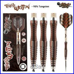 26 Gram Shot Tribal Weapon 2 90% Tungsten Steel Tip Darts. Center Weighted