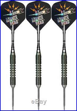 26 Grams Bottelsen Tough Koat Hammer Head 9/32'' Steel Tip Darts