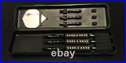 2 sets of Bottelsen Hammer Head Gorilla Grip, Dart Master case + extras