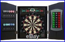 Arachnid Cricketmaxx 5.0 Dartboard Throw Soft or Steel Tip Darts