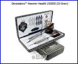 BOTTELSEN HAMMER HEAD 232D5S Devastator Coarse Knurl Dart Set 95% Tungsten