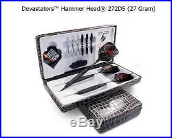 BOTTELSEN HAMMER HEAD 232D5 Devastator Coarse Knurl Dart Set 95% Tungsten