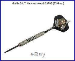 BOTTELSEN HAMMER HEAD 237GG GORILLA Grip Dart Set 90% Tungsten Moveable Point