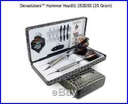 BOTTELSEN HAMMER HEAD 252D5S Devastator Coarse Knurl Dart Set 95% Tungsten
