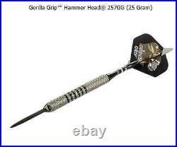 BOTTELSEN HAMMER HEAD 257GG GORILLA Grip Dart Set 90% Tungsten Moveable Point