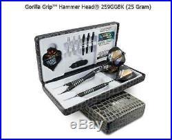BOTTELSEN HAMMER HEAD 259GGBK GORILLA Grip Dart Set 90% Tungsten Moveable Point