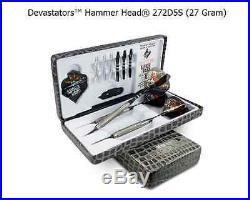 BOTTELSEN HAMMER HEAD 272D5S Devastator Coarse Knurl Dart Set 95% Tungsten