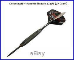 BOTTELSEN HAMMER HEAD 272D5 Devastator Coarse Knurl Dart Set 95% Tungsten