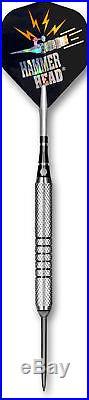 BOTTELSEN Hammer Head Fine Knurl Steel Tip Darts 24 gr