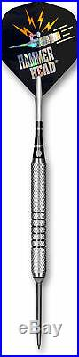 BOTTELSEN Hammer Head Fine Knurl Steel Tip Darts 25 gr