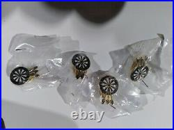 Black Widow Darts With Case Lot see picture also gold pins