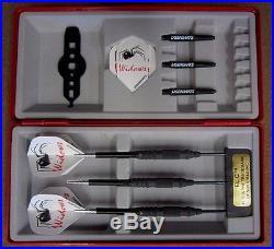 Black Widow Steel Tip Darts 19g Moveable Tungsten LS-BWM219-19 K withFREE Shipping