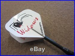 Black Widow Steel Tip Darts 23g Fixed Tungsten LS-BWF123-23 Sm with FREE Shipping