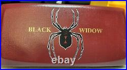 Black Widow darts movable points 19G smooth finish