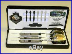 Bottelsen 257gg Gorilla Grip Hammer Head 25 Gram Darts