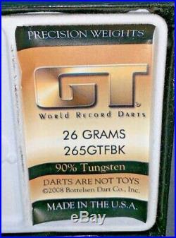 Bottelsen GT Hammer Head (26grams) 265GTBK SMOOTH Black Steel Tip Dart 90% Tung
