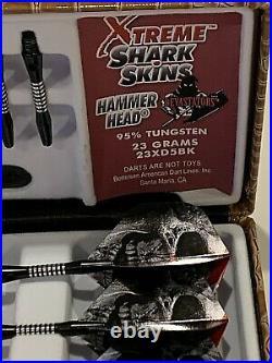 Bottelsen Hammerhead Steel Tip Darts Model 23xd5bk 23 Gr New Free Shipping