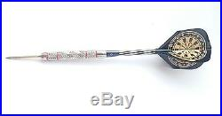Brand New Set of 90% Tungsten Competition Darts -25 Grams- Steel Tip Extra Grip