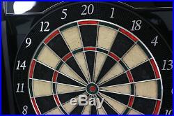 Bullshooter Cricket Maxx 5.0 Electronic Dartboard Cabinet Steel Soft Tip Darts
