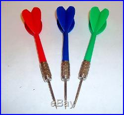 Carnival Balloon Darts CASE LOT 120 DOZEN, Assorted Colors Red, Blue & Green
