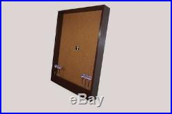 Dartboard Cabinet Backboard withDart Display and Storage Dartboard Wall Protector