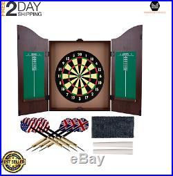 Dartboards Game Room Set Door Mounted Indoor Sports Game Darts Steel Tip Dart