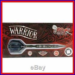 Darts Warrior Steel Tip Dart Set 3 Series Center Weighted 90% Tungsten Barr 24Gm
