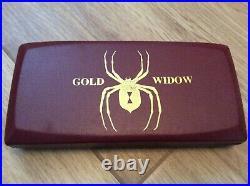 Durro Gold Rod Harrington 90% Tungsten Vintage Steel Tip Darts. 23 grams