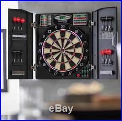 Electronic Dart Board Steel Soft Tip Bullshooter Easter Gift Cabinet Bristle