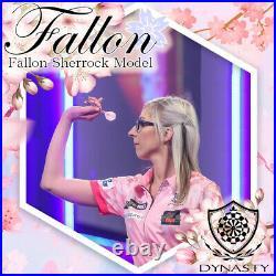 Fallon Sherrock Dynasty Darts Set 24g grams Steel Tip Pink Gold