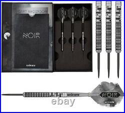 Gary Anderson Noir Phase 5 90% Tungsten Steel Tip Darts by Unicorn