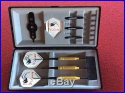 Gold Widow Steel Tip Darts 23g Fixed Tungsten LS-GWF123-23 Sm with FREE Shipping