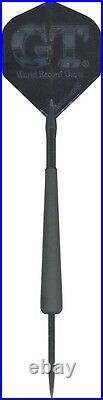 Hammer Head GT G. T. 26g Steel Tip Darts 90% Tungsten 265GTFBK with FREE Shipping