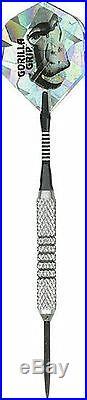 Hammer Head Gorilla Grip 25g Steel Tip Darts 90% Tungsten 259GG with FREE Shipping