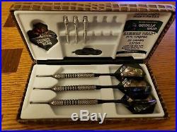 Hammer Head Gorilla Grip 90% Tungsten 25 Gram Bottelsen Steel tip darts. Like new