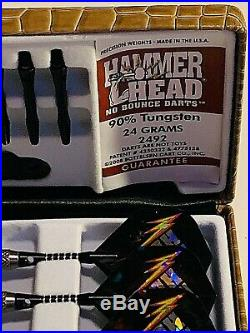 Hammerhead Bottelsen 2492 No Bounce 90% Tungstn Darts Free Shipping Free Flights