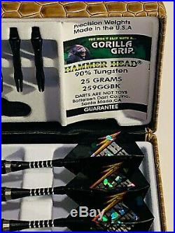 Hammerhead Bottelsen 259ggbk 25 Gr Gorilla Grip Darts Free Shipping Free Flights