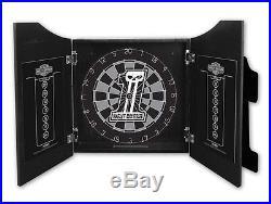 Harley-Davidson Dark Custom #1 Skull Steel Tip Dartboard Kit FREE Shipping