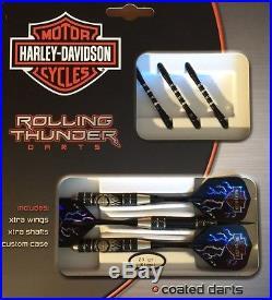 Harley-davidson Rolling Thunder Nickel Silver Darts Steel Tip
