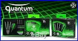 Harrows Quantum 90% Tungsten Steel Tip Darts 22g, 23g, 24g, 26g Made in UK