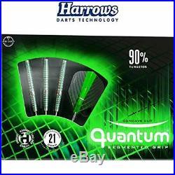 Harrows Quantum 90% Tungsten Steel Tip Darts (23.0 Grams)