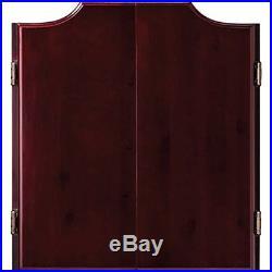 Hudson Dartboards Sisal/Bristle Steel Tip Cabinet Bundle Premium Set Razorback