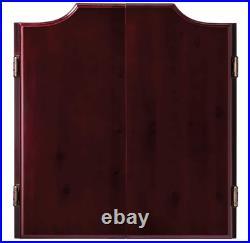 Hudson Sisal/Bristle Steel Tip Dartboard Cabinet, 12 x 4.13 x 14 inches