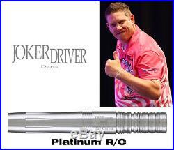 #JDPRC Joker Driver Platinum Ray Carver Signature 20g Soft Tip Dart Set