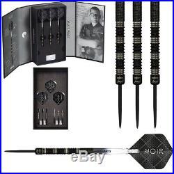 James Wade 24 Gram Unicorn Noir Deluxe Player Edition Phase 2 Steel Tip Darts