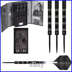 James Wade Noir Deluxe Edition 90% Tungsten Black Titanium Steel Tip Darts